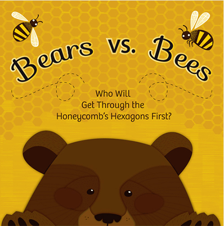 Bees vs Bears Hex Game