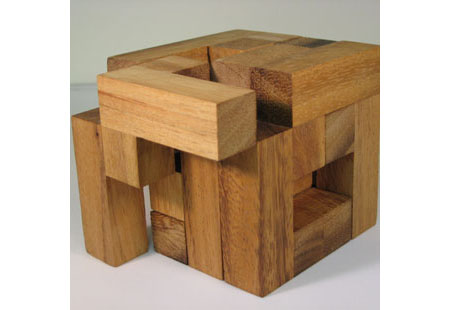 Century Cube Large Wooden Puzzle