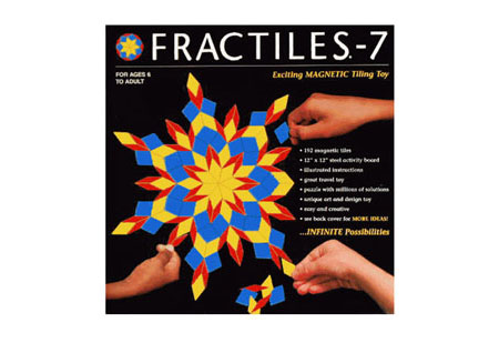 "Fractiles 7-12"" Magnetic Tiles"