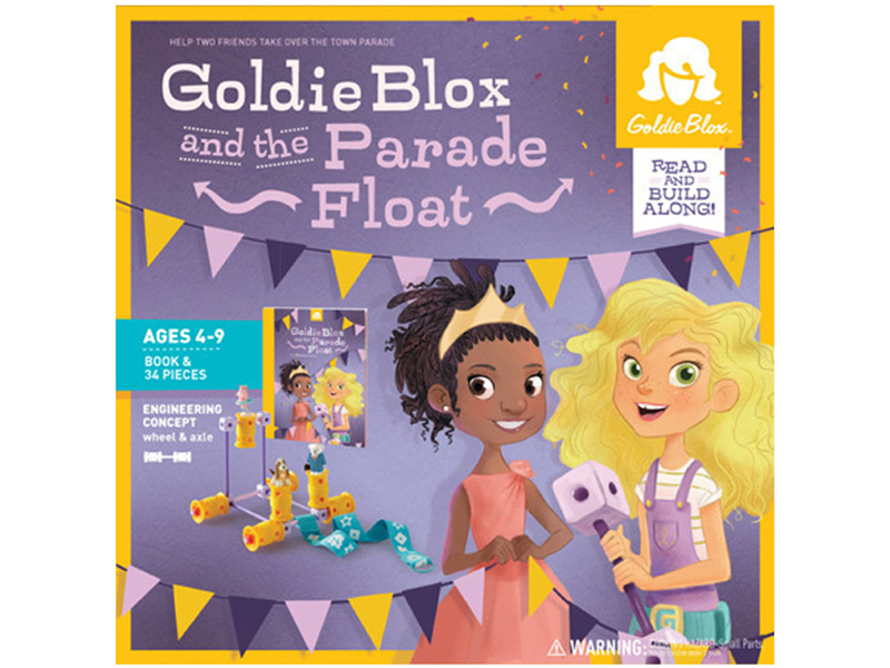 Goldieblox And The Parade Float