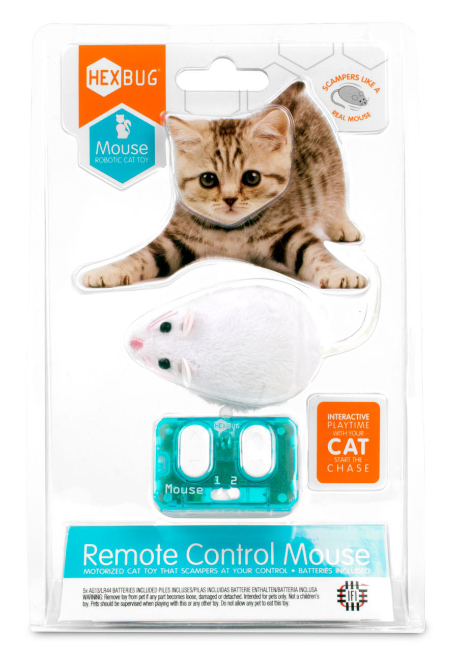 Hexbug- Cat Toy Remote Control Mouse