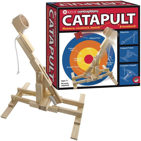 Keva Contraptions Catapult