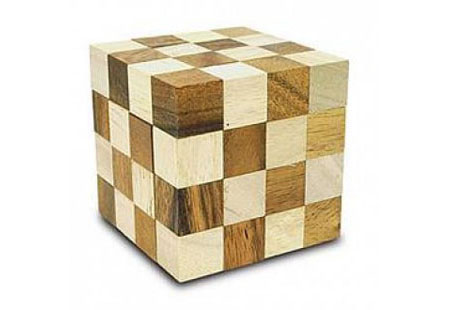 King Snake Wooden Puzzle