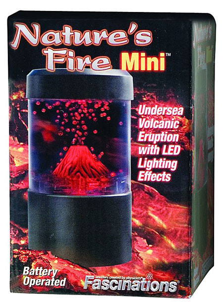 Mini Volcano Eruption Lamp