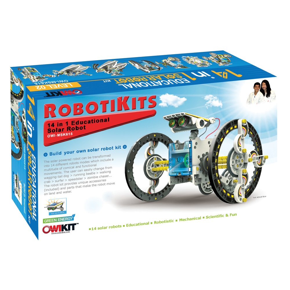 Robotikits 14-in-1 Solar Robot - Lawrence Hall of Science