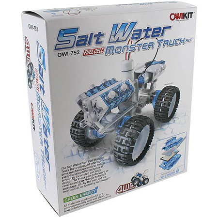 Salt Water Monster Truck Kit