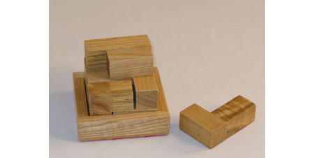 Soma Cube Wooden Puzzle