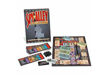 Spy Alley: The Game of Suspense and Intrigue