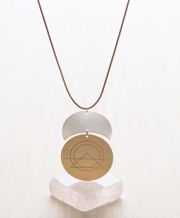 Necklace - Sacred Geometry