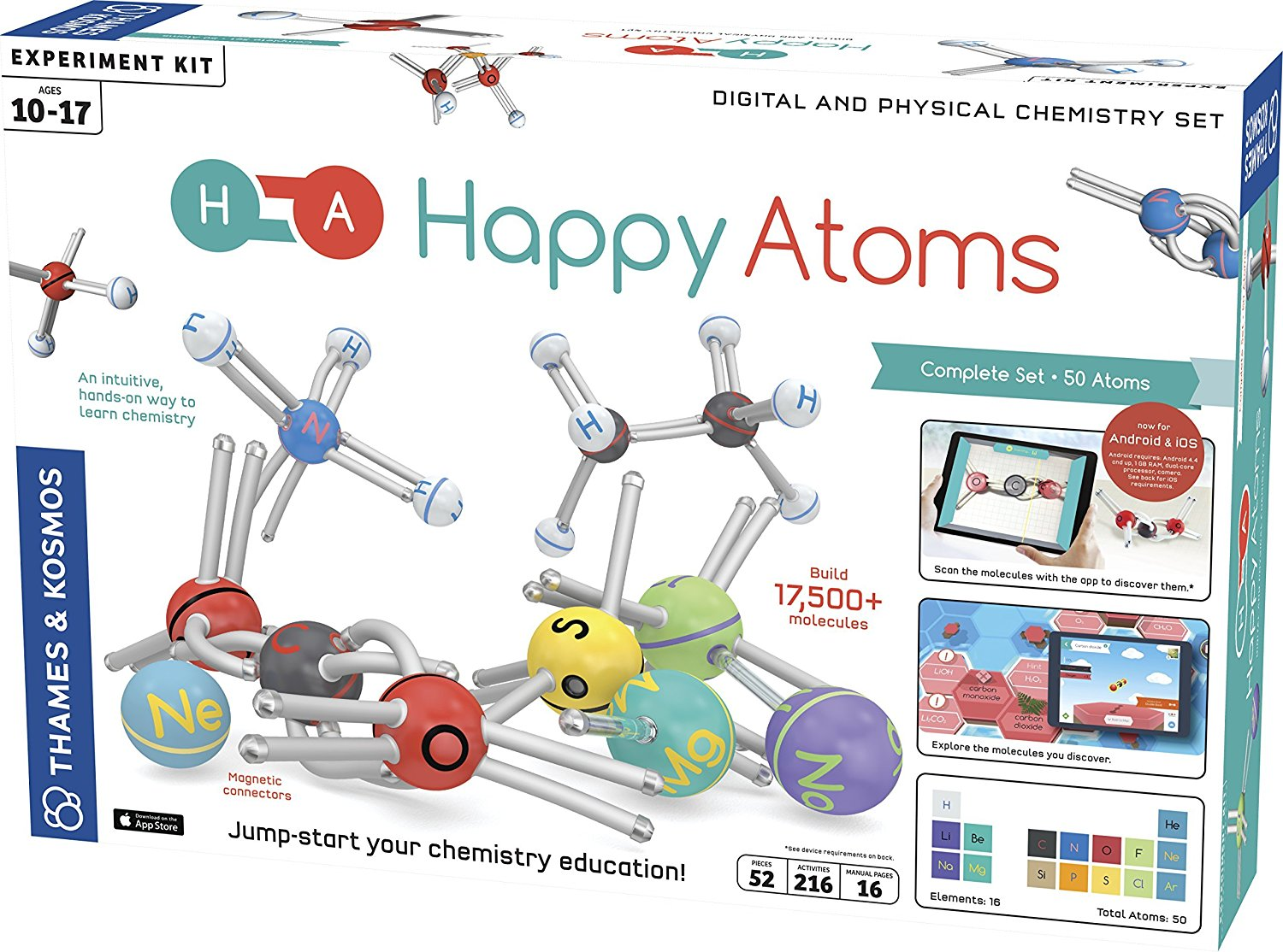 Happy Atoms - Intro To Atoms & Molecules