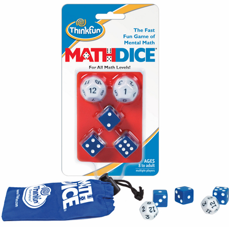 Mathdice Mental Math Game