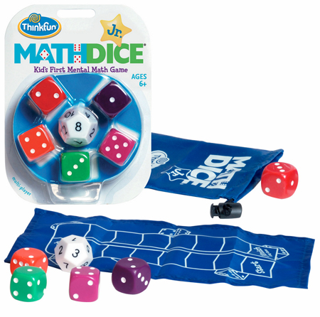 Mathdice Jr Mental Math Game