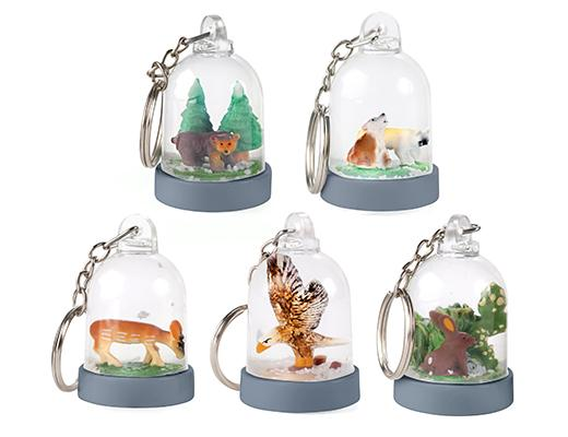 Keychain - Mini Snow Globe
