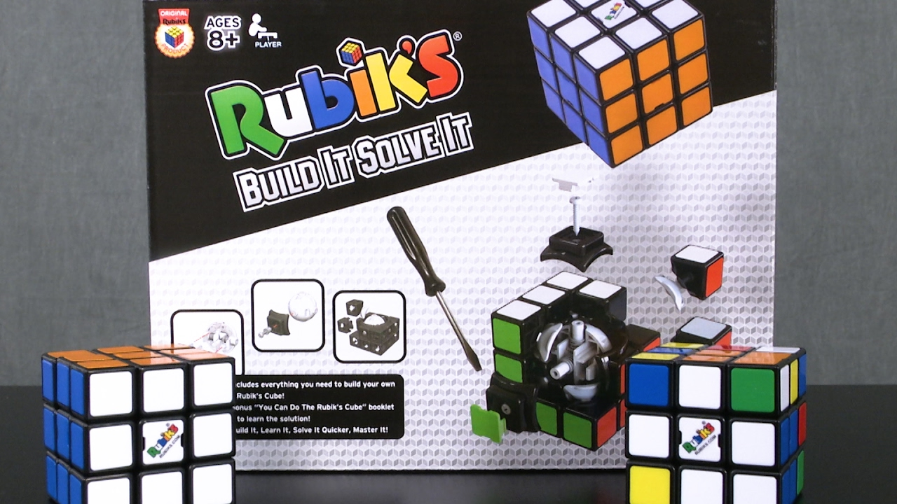 Rubik's Cube Build it Solve it