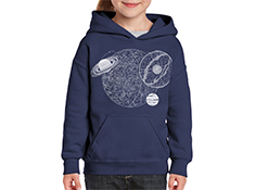 Astronomy Youth Hoodie