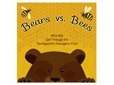 Bees vs Bears Hex Game