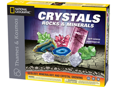 Crystals, Rocks and Minerals Science Kit  by Thames and Kosmos