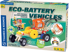 Eco-Battery Vehicles Science Kit  by Thames and Kosmos