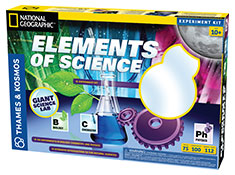 Elements of Science Kit: 100 Experiments