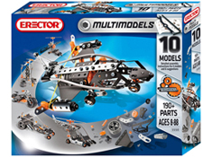 Erector 10 Model Building Set
