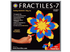 Fractiles 7 - Travel Edition Magnetic Tiles