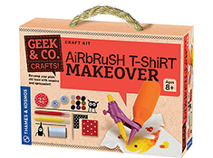 Geek & Co. Airbrush T-Shirt Makeover