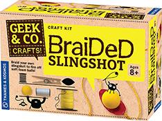 Geek & Co. Braided Slingshot