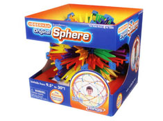 Hoberman Sphere - Rainbow Rings