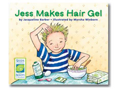 Jess Makes Hair Gel - Seeds of Science