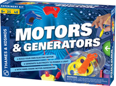 Motors & Generators Science Kit  by Thames and Kosmos