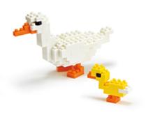 Duck Nanoblock Building Blocks