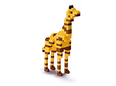 Giraffe Nanoblock Building Blocks
