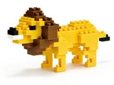 Lion Nanoblock Building Blocks