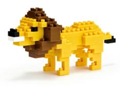 Lion Nanoblock Building Blocks
