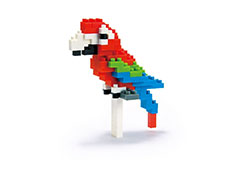 Macaw Nanoblock Building Blocks