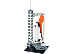 Space Shuttle Nanoblock Building Blocks
