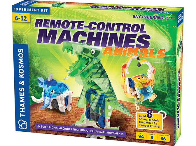 Remote-Control Machine Animals