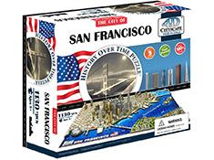 San Francisco 4d Cityscape Puzzle