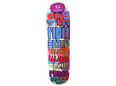 Lawrence Hall of Science White Skateboard