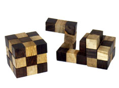 Snake Wooden Puzzle