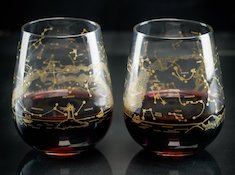Wine Glass Set - Northern Hemisphere