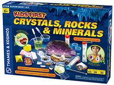 Kids First Crystals, Rocks, and Minerals