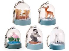 Keychain - Nature Snow Globe