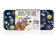 Draw Your Own Secret Tattoos